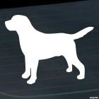 Наклейка Лабрадор собака