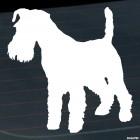 Наклейка Шнауцер собака