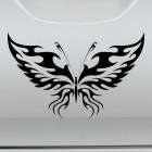 Наклейка Бабочка тату флеймз 2
