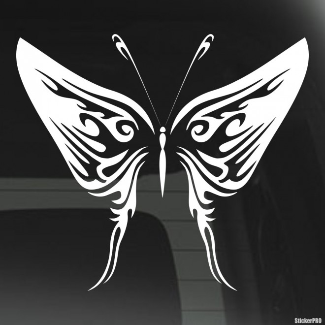 Наклейка Бабочка 8