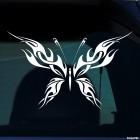 Наклейка Бабочка тату флеймз 4