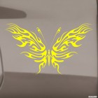 Наклейка Бабочка тату флеймз 3