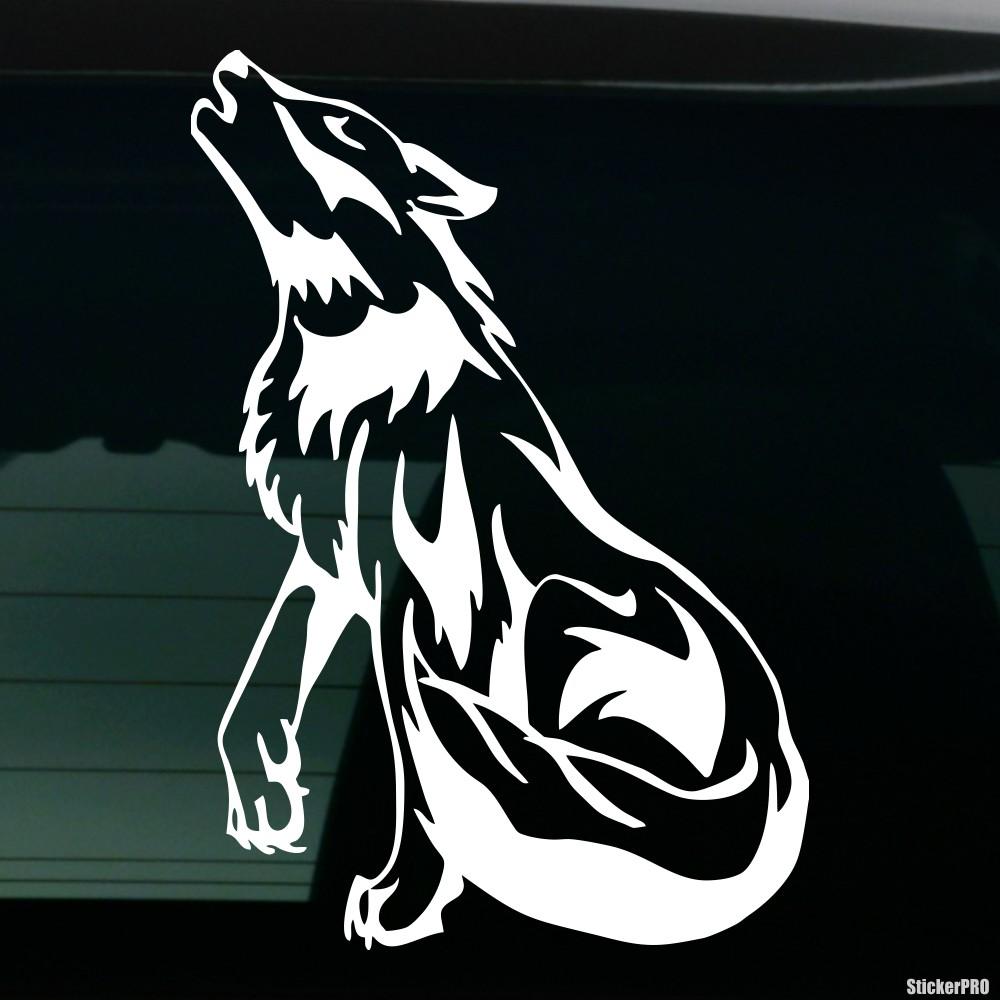 wolf наклейки
