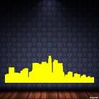 Наклейка Лос Анджелес городской горизонт