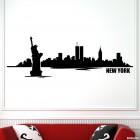 Наклейка Нью Йорк городской горизонт 3