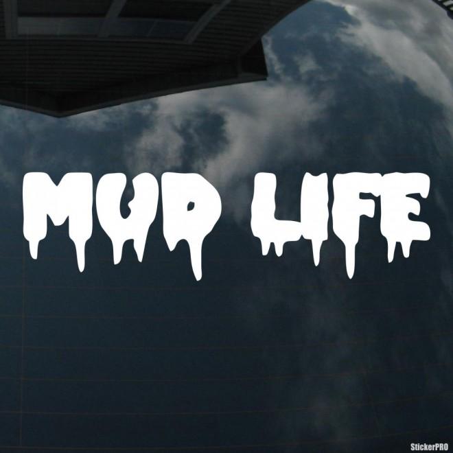 Наклейка Mud Life