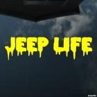 Наклейка Jeep Life