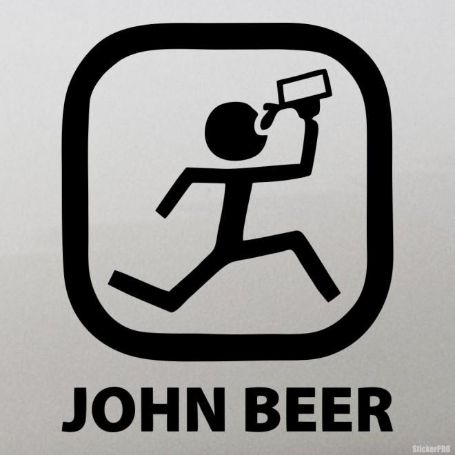 Наклейка John Beer