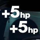 Наклейка +5hp дающая плюс пять лошадиных сил