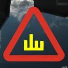 Наклейка Знак Ш шипы-фак