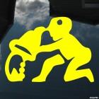 Наклейка Знак зодиака Водолей (v.I)
