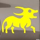 Наклейка Знак зодиака Телец (v.I)