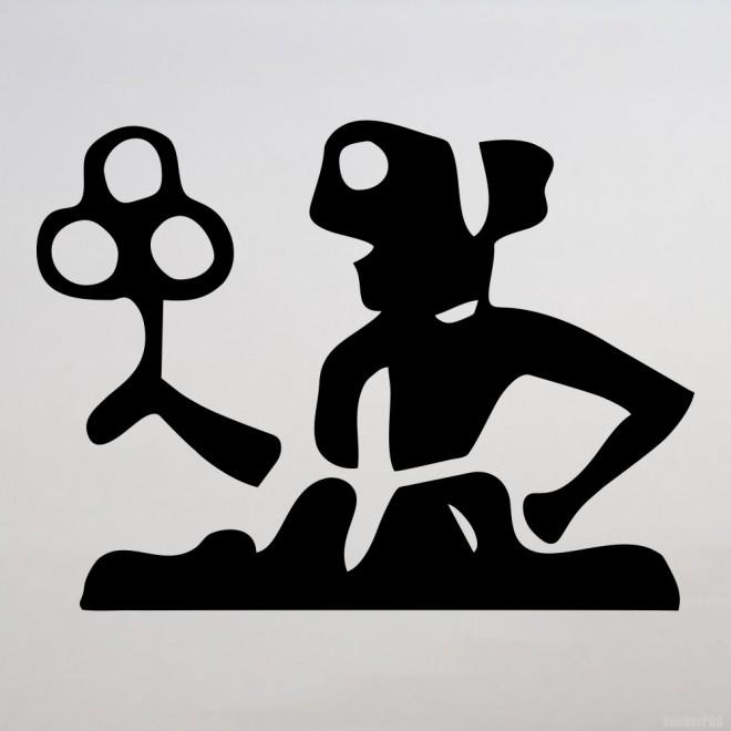 Наклейка Знак зодиака Дева (v.I)