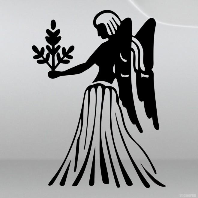 Наклейка Знак зодиака Дева (v.II)