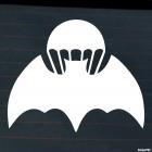 Наклейка Военная разведка Летучая мышь и парашют
