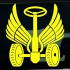 Наклейка Автомобильные войска Дорожные войска
