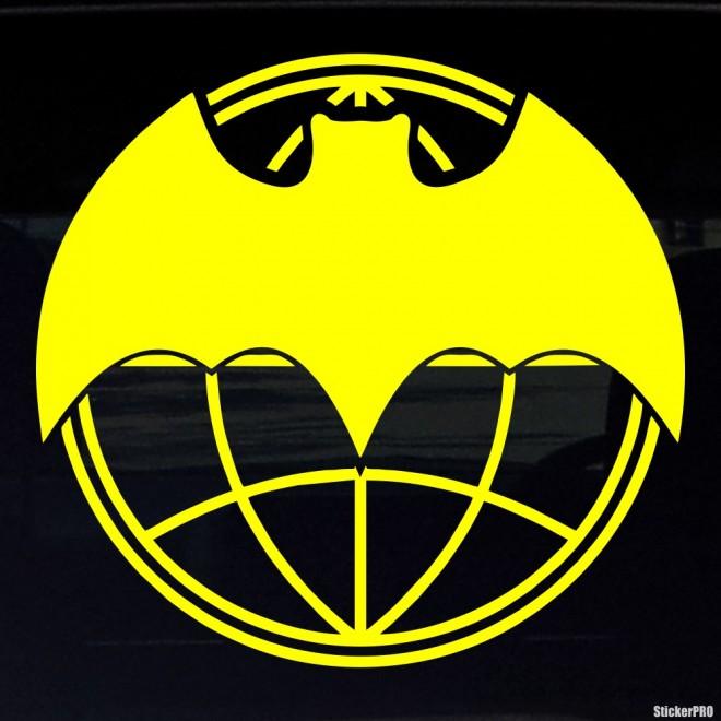 Наклейка Военная разведка Летучая мышь