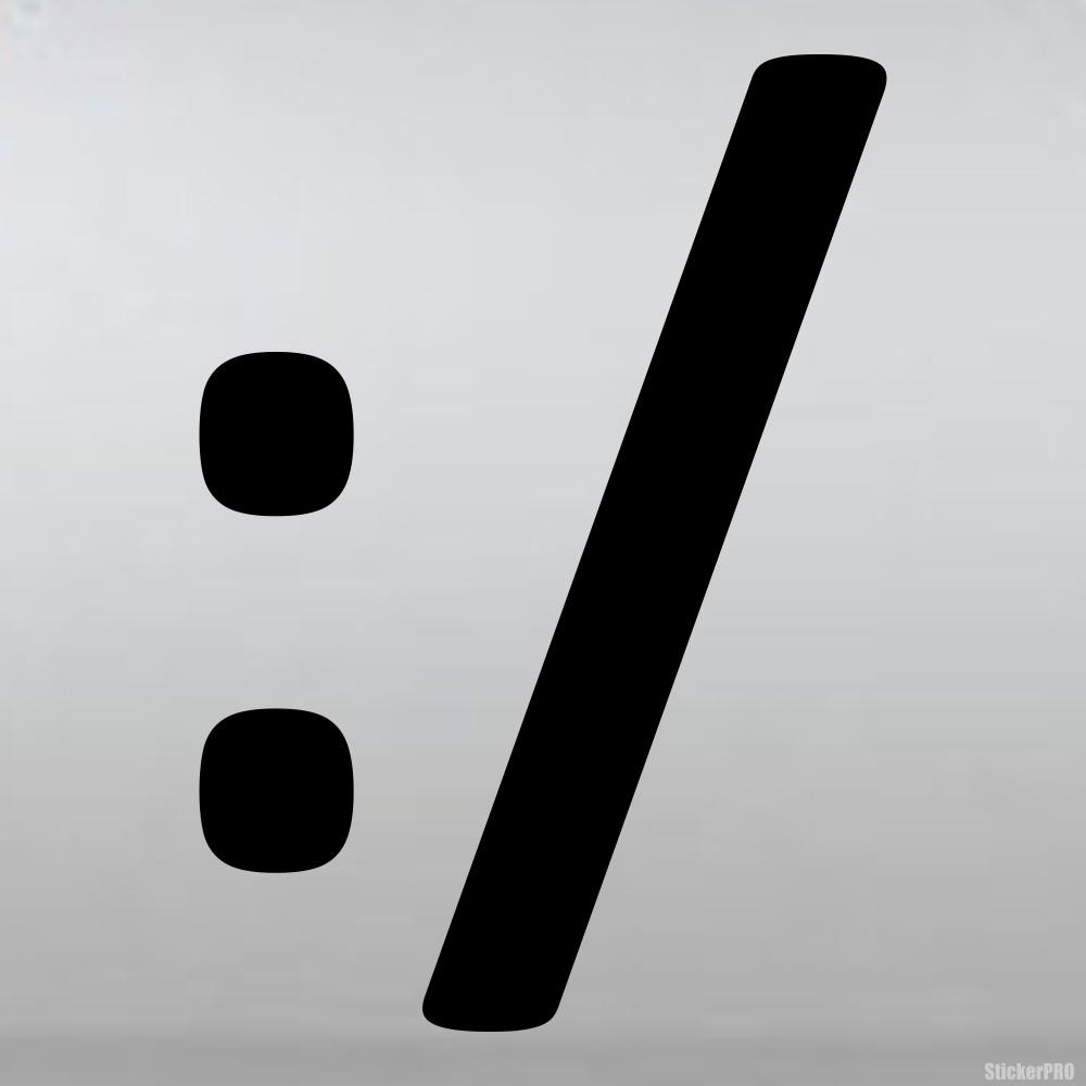 смайлик смущение символами: