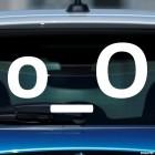 Наклейка смущенный смайлик символами o_O