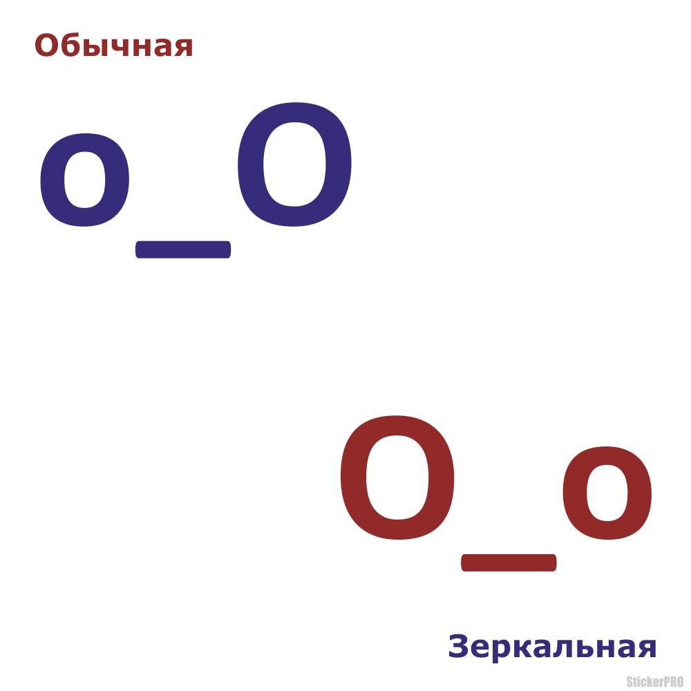наклейку смущенный смайлик символами ...: stickerpro.ru/buy-high-quality-vinyl-sticker-confused-text-o_O...