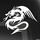 Наклейка Дракон 54
