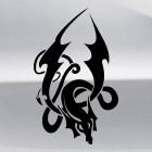 Наклейка Дракон 49