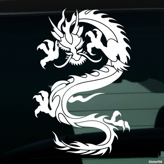 Наклейка Дракон 43