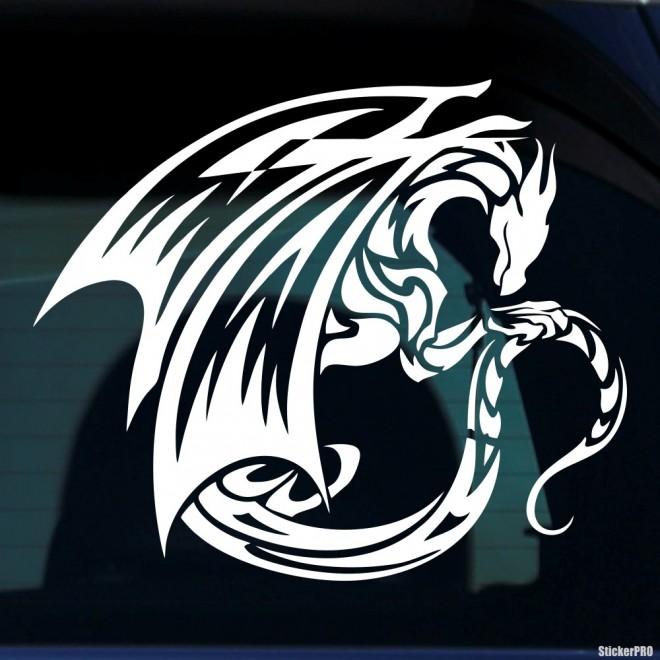 Наклейка Дракон 42