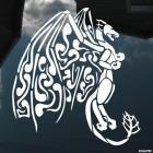 Наклейка Дракон 39