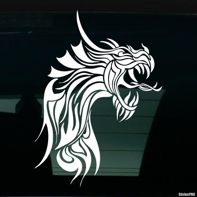 Наклейка Дракон 36