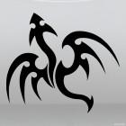 Наклейка Дракон 32