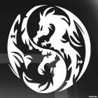 Наклейка Дракон 29