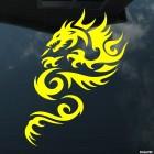 Наклейка Дракон 26