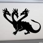 Наклейка Дракон Горыныч