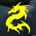 Наклейка Дракон 21