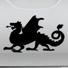 Наклейка Дракон 20