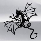 Наклейка Дракон 19