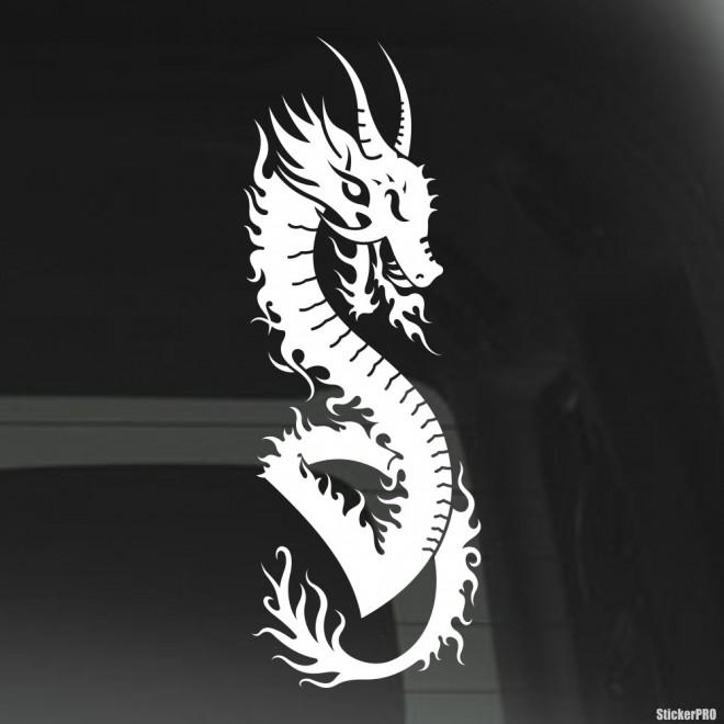 Наклейка Дракон 9