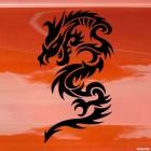 Наклейка Дракон 7