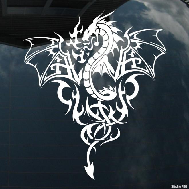 Наклейка Дракон 6