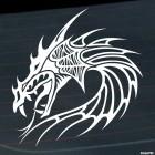 Наклейка Дракон 3
