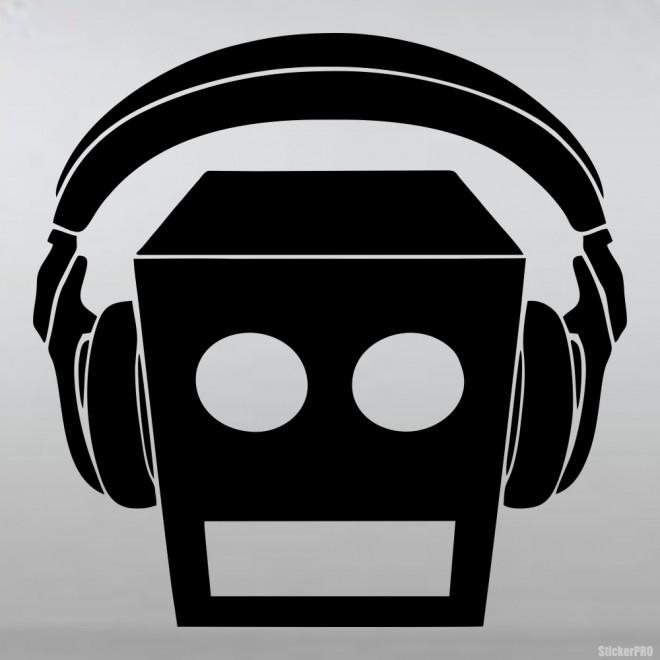 Наклейка LMFAO американский дэнс хип-хоп дуэт