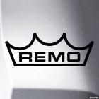 Наклейка Remo пластики для ударных инструментов лого