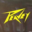 Наклейка Peavey Американское музыкальное оборудование лого