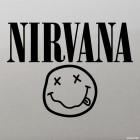 Наклейка Nirvana американская рок-группа