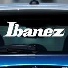 Наклейка Ibanez Японский производитель гитар лого