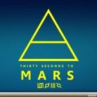 Наклейка 30 Seconds to Mars американская рок-группа logo