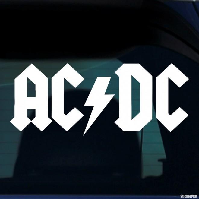 Наклейка AC/DC австралийская рок-группа
