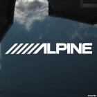Наклейка Alpine аудиотехника Япония