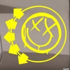 Наклейка Blink-182 американская панк-рок группа